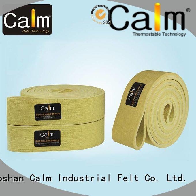 Custom felt belt seamless ring conveyor Calm Industrial Felt