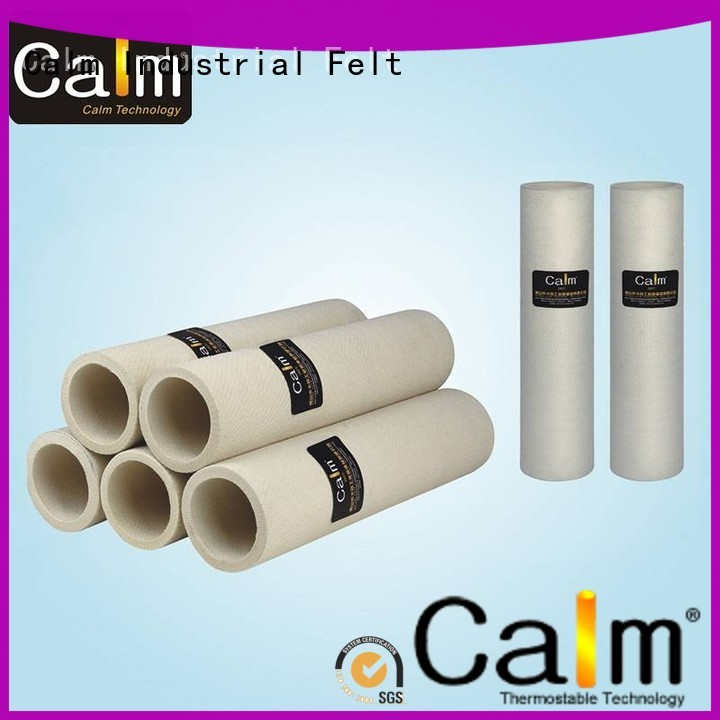 high middletemp roller Calm Industrial Felt Brand black felt roll manufacture