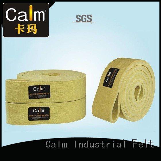 industrial conveyor manufacturers conveyor ring Calm Industrial Felt Brand