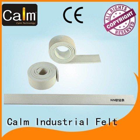 Calm Industrial Felt Brand two rack thin felt strips packing iron