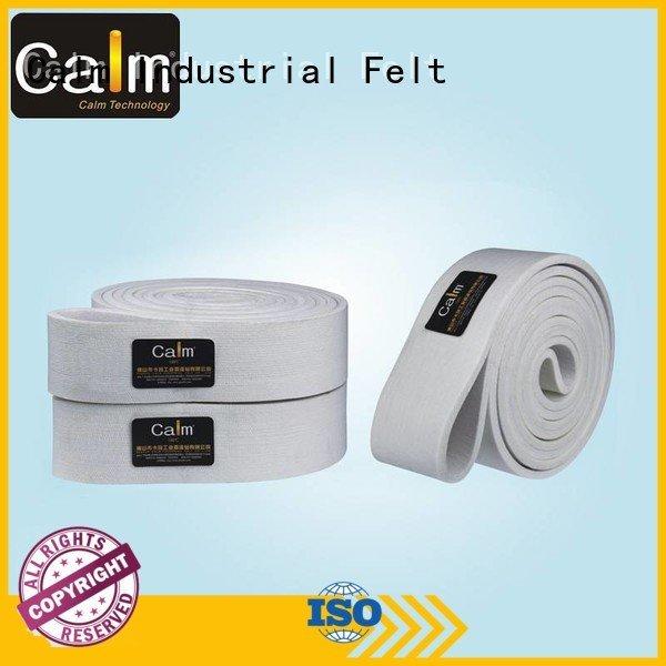 industrial conveyor manufacturers 480°c belt Calm Industrial Felt Brand