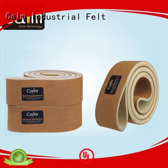 Calm Industrial Felt Brand 480°c industrial conveyor manufacturers ultrahigh supplier