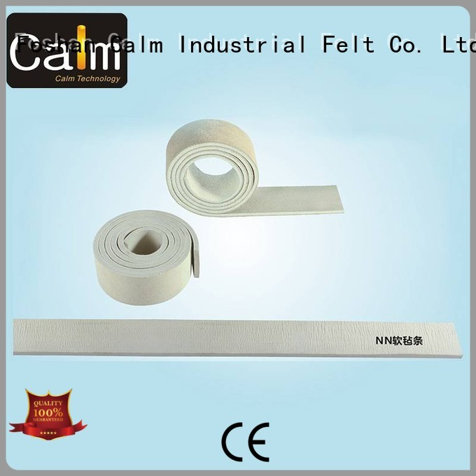 two iron felt strips felt Calm Industrial Felt