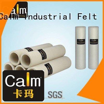 Quality black felt roll Calm Industrial Felt Brand 180°c felt roll