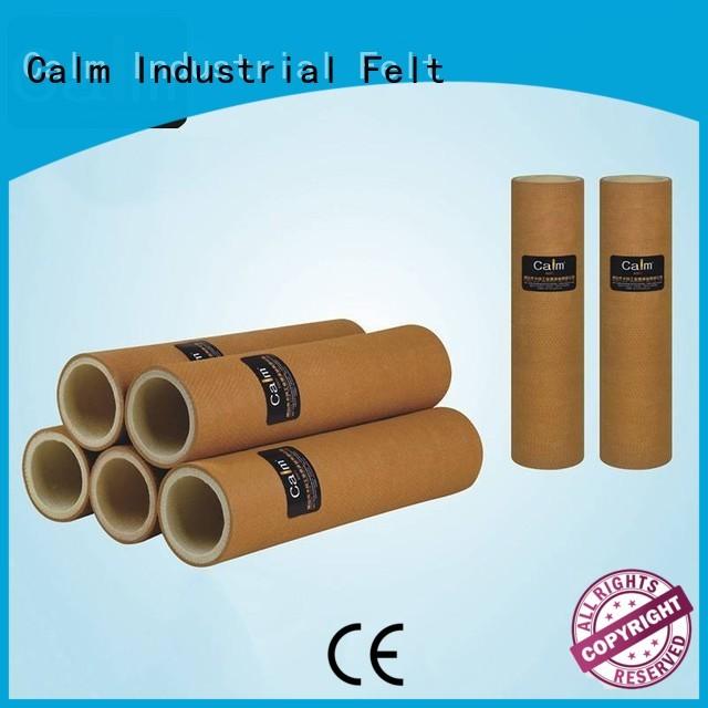 Calm Industrial Felt Brand pbokevlar600°c pe felt roll roller factory