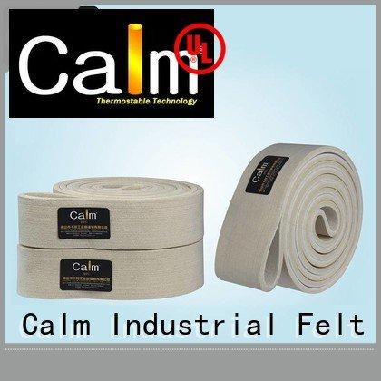 tempseamless conveyor Calm Industrial Felt felt belt