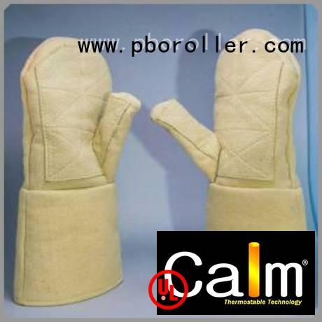Hot Kevlar gloves for metal casting 500℃ Kevlar gloves Finger shape Calm Industrial Felt