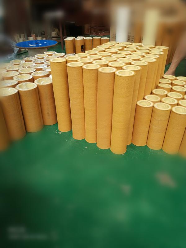 Factory directly  supply heat resistance felt tube PBO+Kevlar