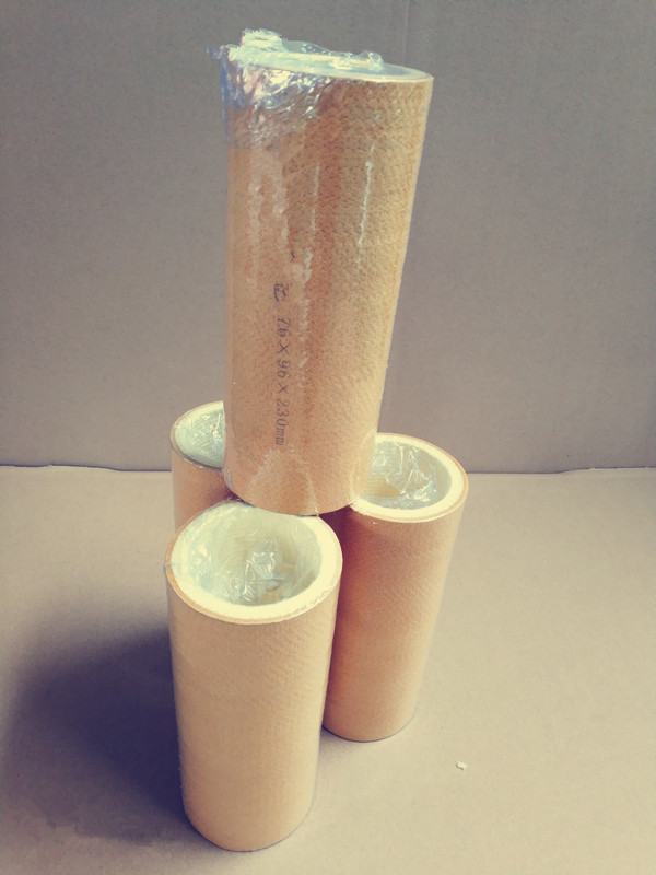 Factory directly  supply heat resistance felt tube to resist 600°C