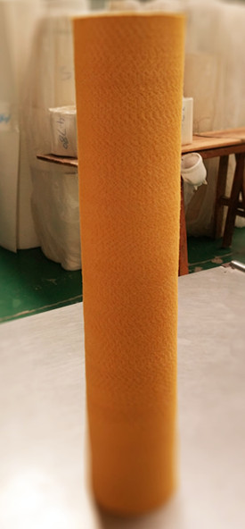 Production of PBO+Kevlar felt tube for aluminum extrusion manufacturer in China