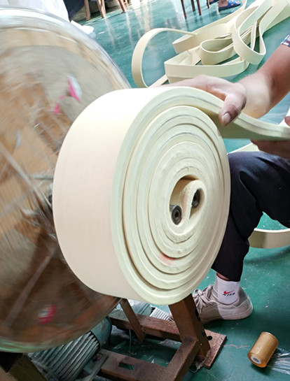 Packing of the endless felt belt with heat resistance for aluminum extrusion