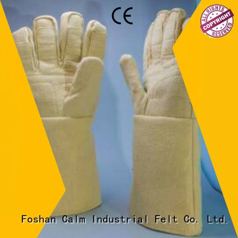 Hot Kevlar gloves Finger shape Calm Industrial Felt Brand