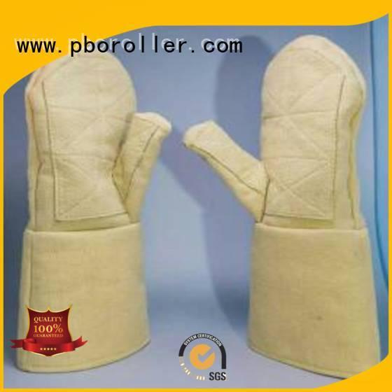 Hot Kevlar gloves for metal casting 3.5Grade 37cm 500℃ Calm Industrial Felt Brand
