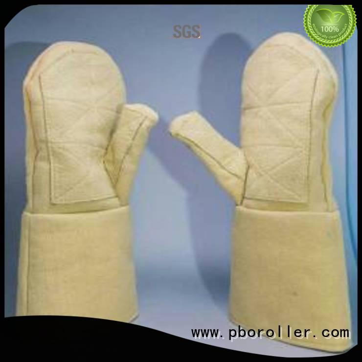 Calm Industrial Felt Finger shape Kevlar gloves 37cm 3.5Grade