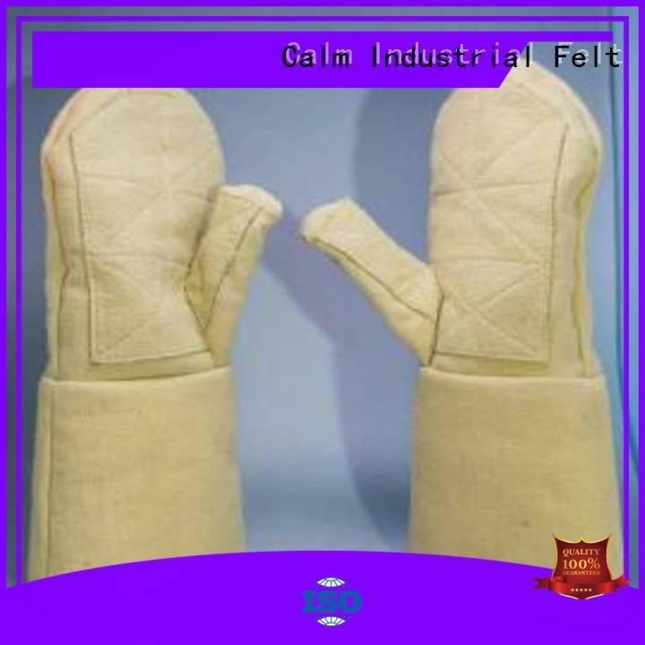 Calm Industrial Felt Brand 3.5Grade 500℃ Kevlar gloves Finger shape 37cm
