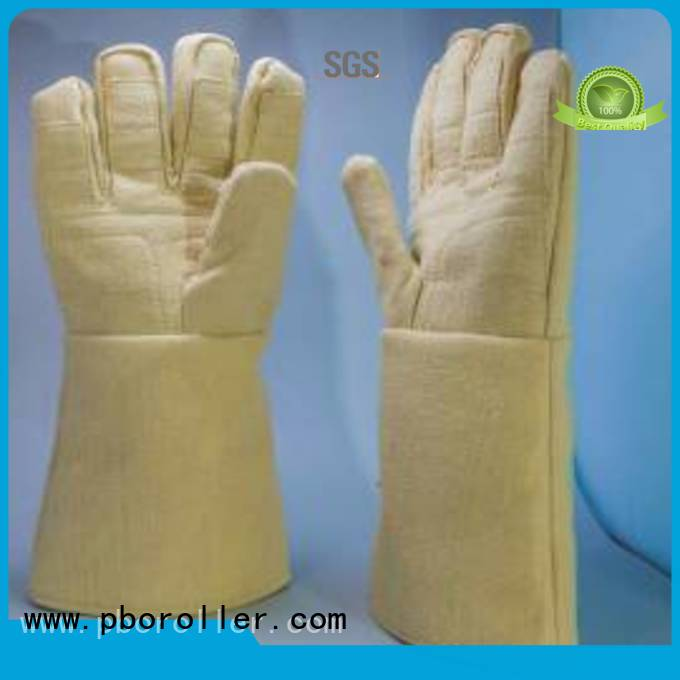 Calm Industrial Felt Brand 3.5Grade Finger shape 500℃ Kevlar gloves