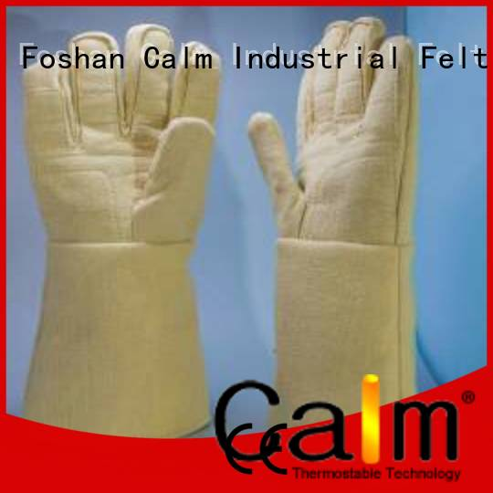 Kevlar gloves for metal casting 3.5Grade Kevlar gloves Finger shape