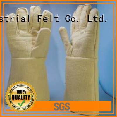 OEM Kevlar gloves 37cm Finger shape Kevlar gloves for metal casting