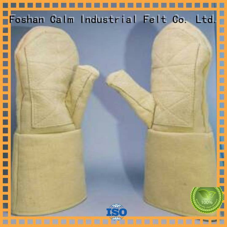 3.5Grade 37cm Kevlar gloves Finger shape Calm Industrial Felt Brand
