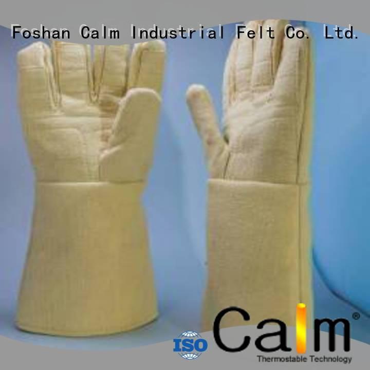 Finger shape 37cm 500℃ 3.5Grade Kevlar gloves for metal casting 500℃ 3.5Grade Finger shape 37cm Bulk Buy