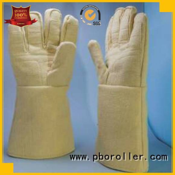 500℃ Finger shape 37cm Calm Industrial Felt Brand Kevlar gloves