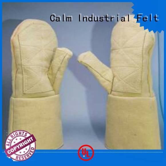 Kevlar gloves for metal casting 37cm 3.5Grade Finger shape 500℃