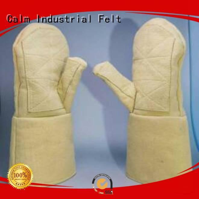 Calm Industrial Felt Brand 3.5Grade Finger shape 37cm Kevlar gloves