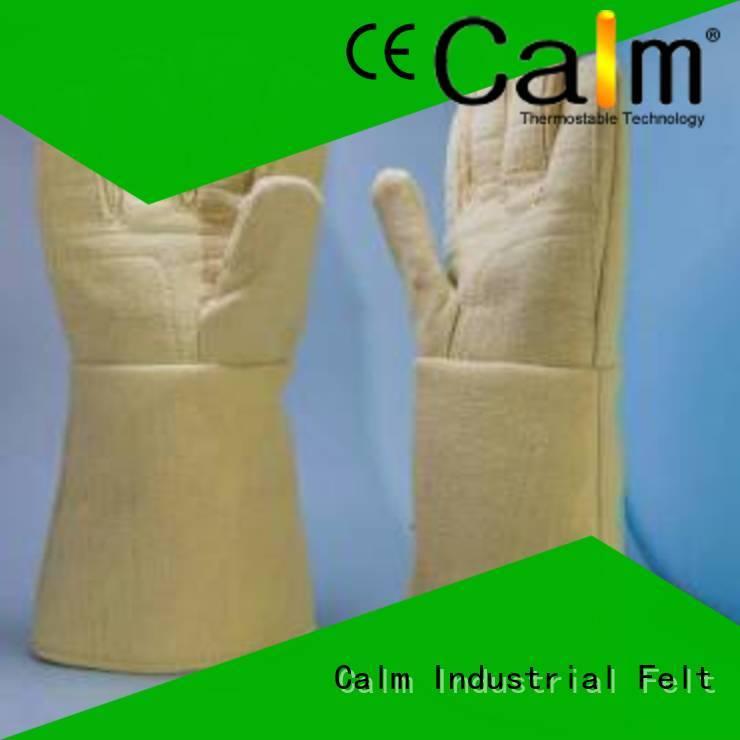Kevlar gloves for metal casting Finger shape Kevlar gloves 37cm