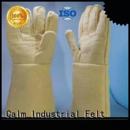 Kevlar gloves for metal casting 3.5Grade Finger shape Kevlar gloves manufacture