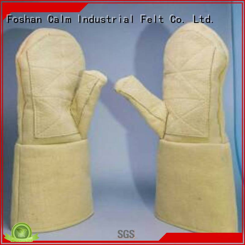 Kevlar gloves for metal casting 3.5Grade Finger shape Kevlar gloves