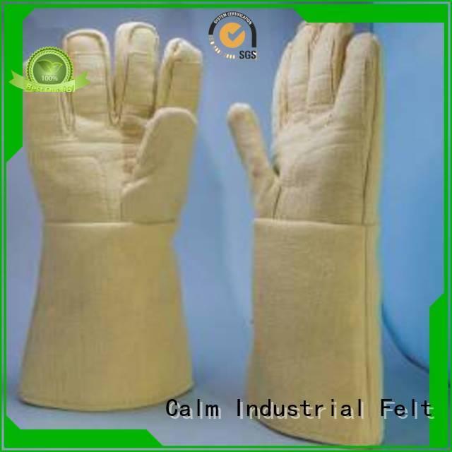 Kevlar gloves for metal casting 3.5Grade Kevlar gloves Calm Industrial Felt