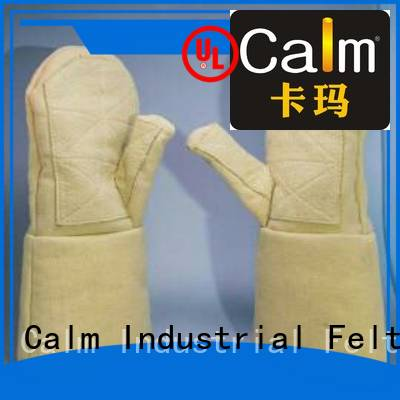 Wholesale 3.5Grade 37cm Kevlar gloves Calm Industrial Felt Brand