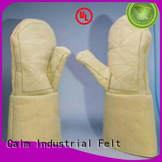 37cm Kevlar gloves for metal casting 37cm 3.5Grade Kevlar gloves Calm Industrial Felt Warranty 3.5Grade