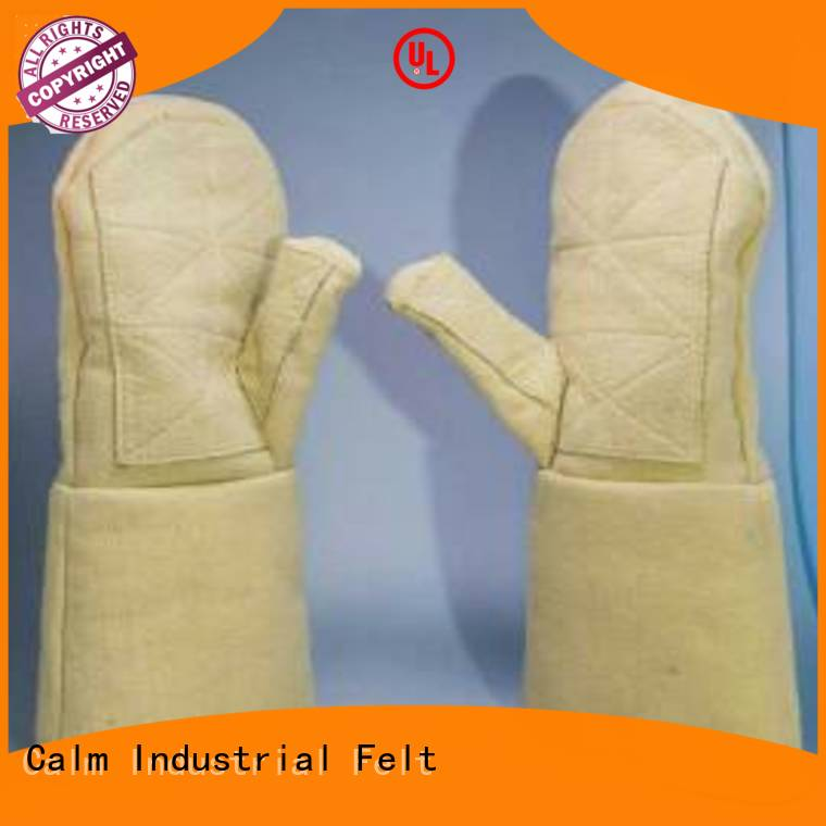 Kevlar gloves for metal casting 500℃ Kevlar gloves Calm Industrial Felt Brand