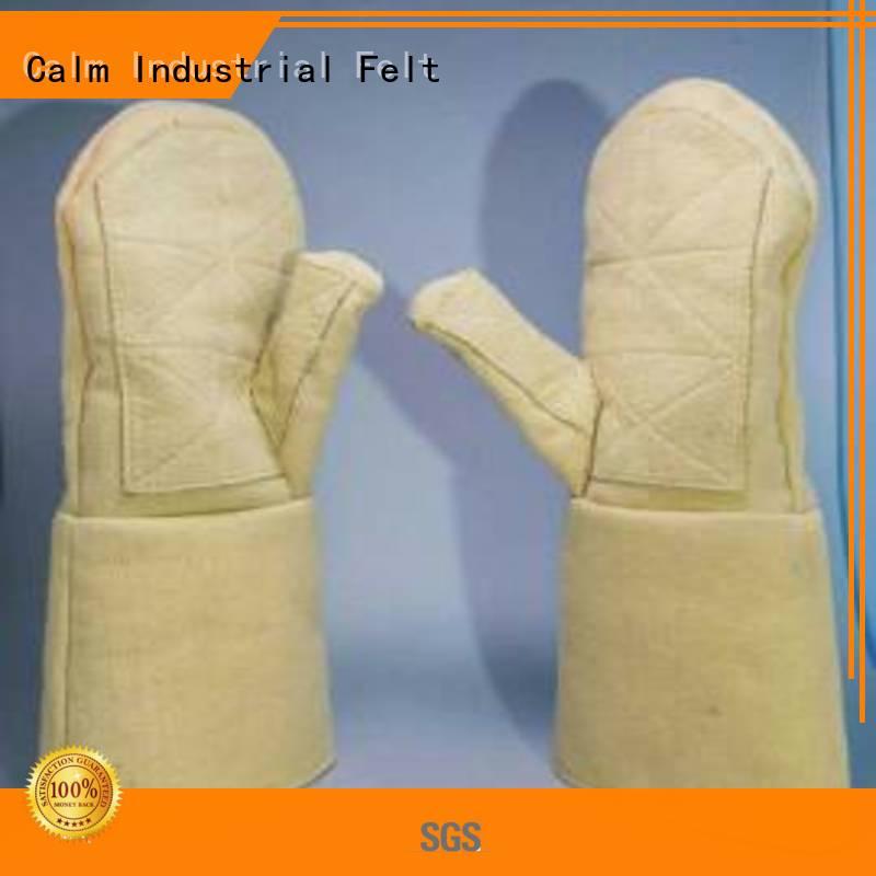 Kevlar gloves for metal casting 3.5Grade Finger shape Kevlar gloves Calm Industrial Felt Warranty