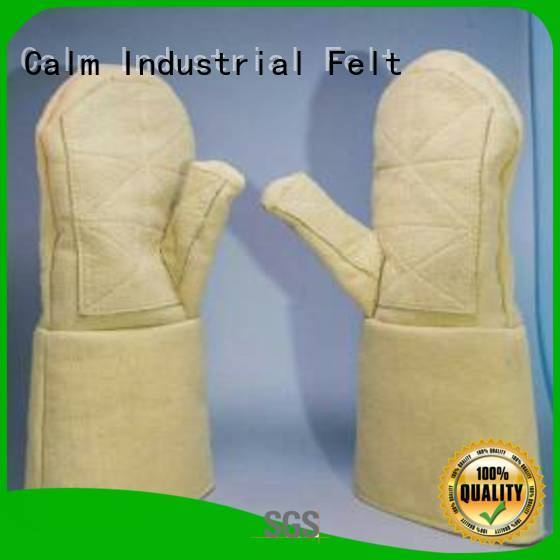 Kevlar gloves for metal casting Finger shape Kevlar gloves 37cm company