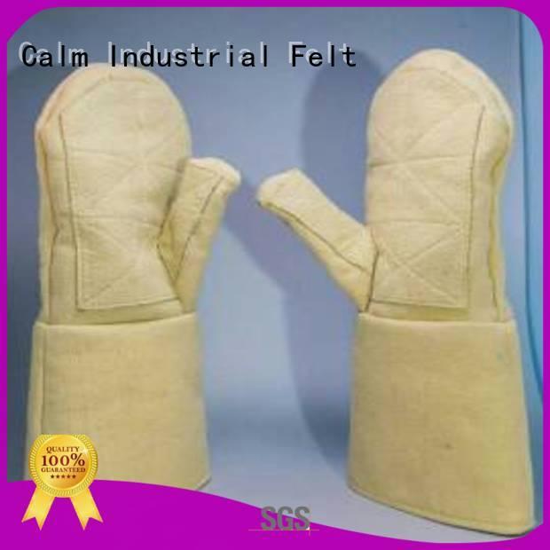 Custom 3.5Grade Kevlar gloves 500℃ Kevlar gloves for metal casting