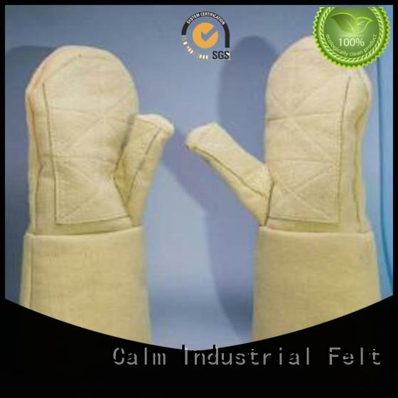 Kevlar gloves for metal casting 37cm 3.5Grade Kevlar gloves Calm Industrial Felt Warranty
