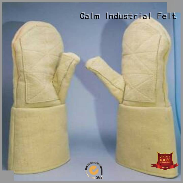 Kevlar gloves for metal casting 3.5Grade Kevlar gloves Calm Industrial Felt Brand