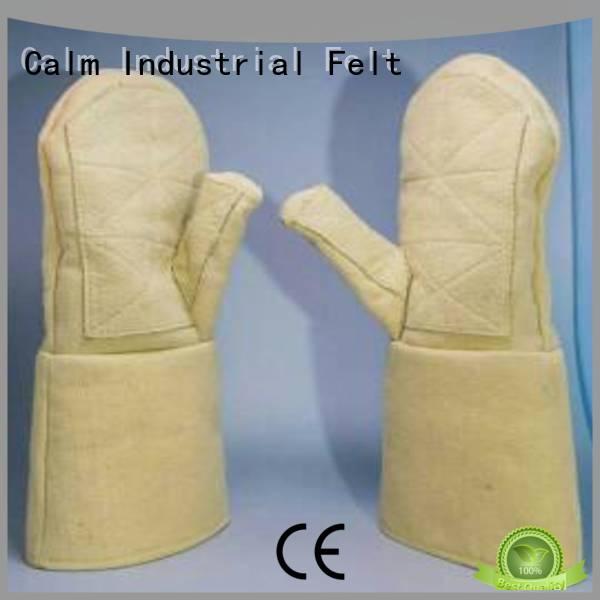 Calm Industrial Felt 3.5Grade Finger shape Kevlar gloves 37cm 500℃