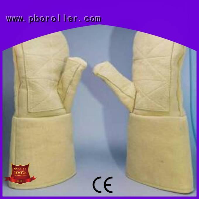 Calm Industrial Felt Brand 500℃ Kevlar gloves for metal casting