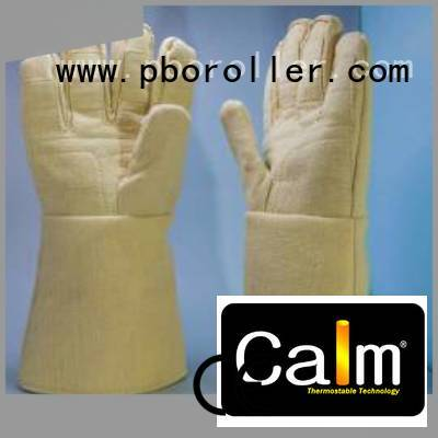 Hot Kevlar gloves for metal casting 37cm Kevlar gloves 3.5Grade Calm Industrial Felt