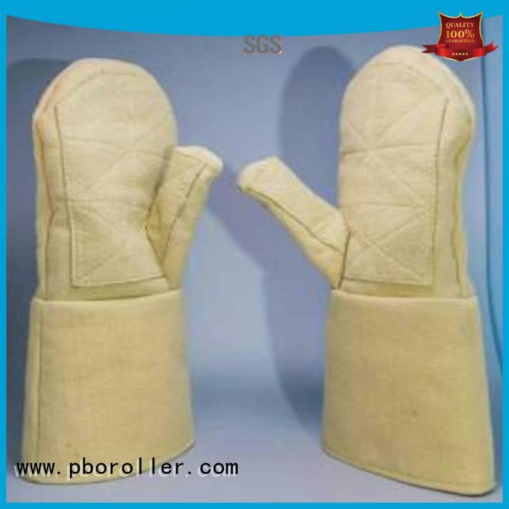Calm Industrial Felt Brand 500℃ 37cm Kevlar gloves for metal casting 3.5Grade Finger shape