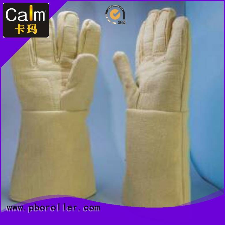 Calm Industrial Felt Brand 37cm 3.5Grade 500℃ Kevlar gloves Finger shape