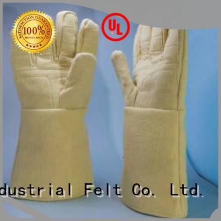 Kevlar gloves for metal casting 500℃ 3.5Grade Finger shape 37cm Bulk Buy