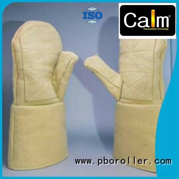 Kevlar gloves for metal casting 37cm Kevlar gloves Calm Industrial Felt Brand