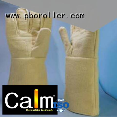 Calm Industrial Felt Brand Finger shape 500℃ Kevlar gloves 37cm 3.5Grade