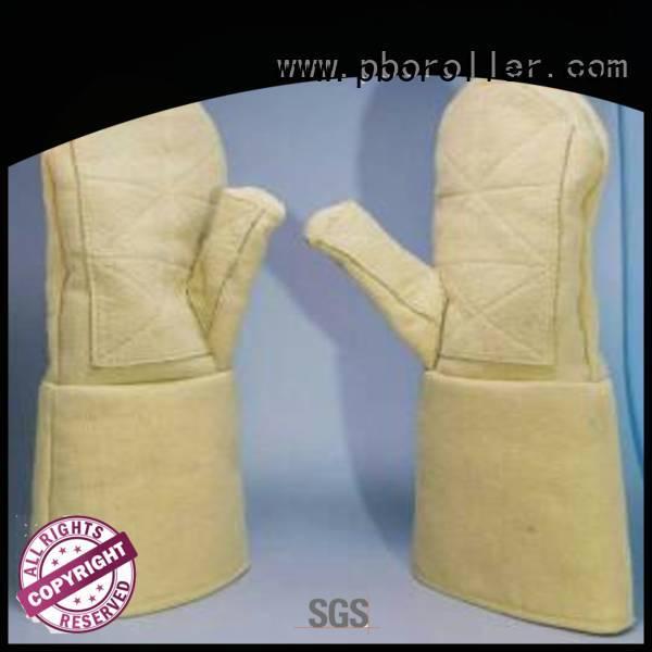 Calm Industrial Felt Brand 500℃ Finger shape 3.5Grade Kevlar gloves 37cm